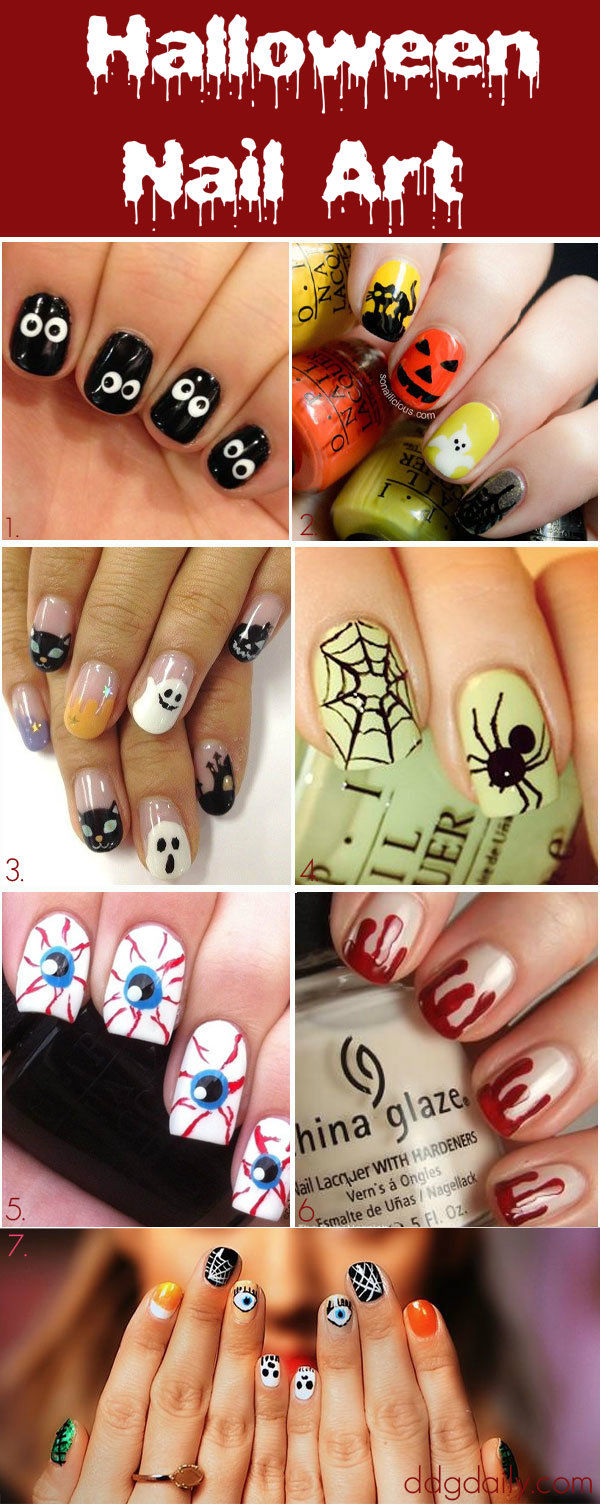 Halloween Nail Art Pictures, Photos, and Images for ...