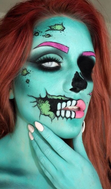 Zombie Girl Makeup Pictures, Photos, and Images for ...