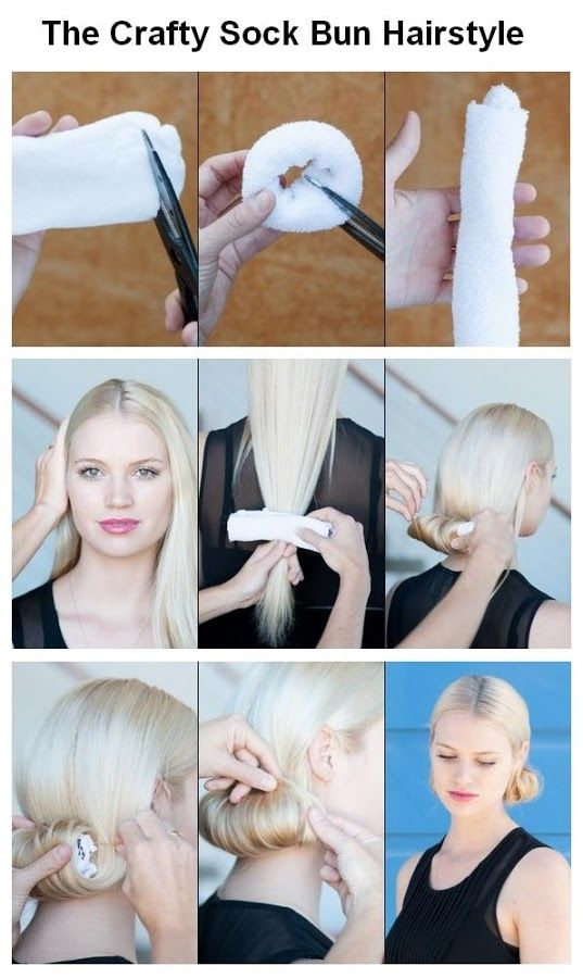 Diy Sock Bun Hair Pictures Photos And Images For Facebook Tumblr