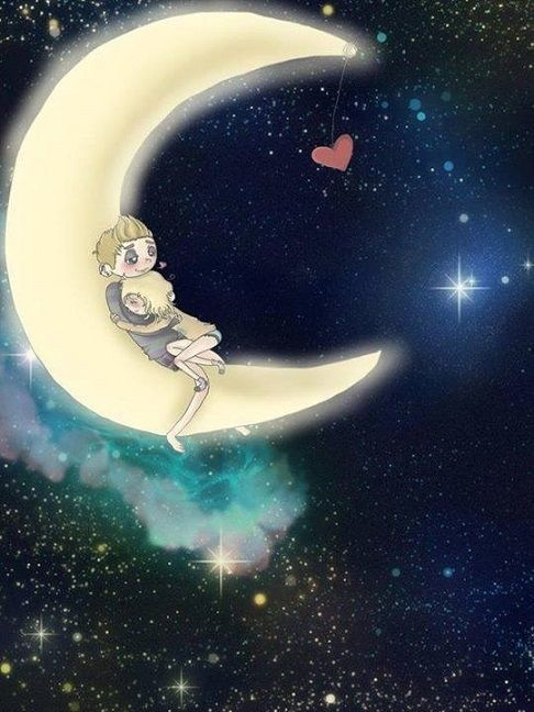 Moon Hugs Pictures Photos And Images For Facebook