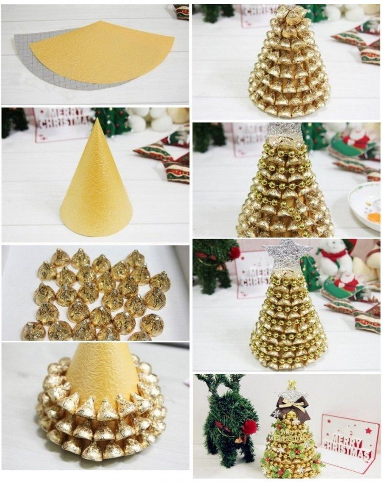 DIY Gold Hershey Kisses Tree Pictures, Photos, and Images for ...