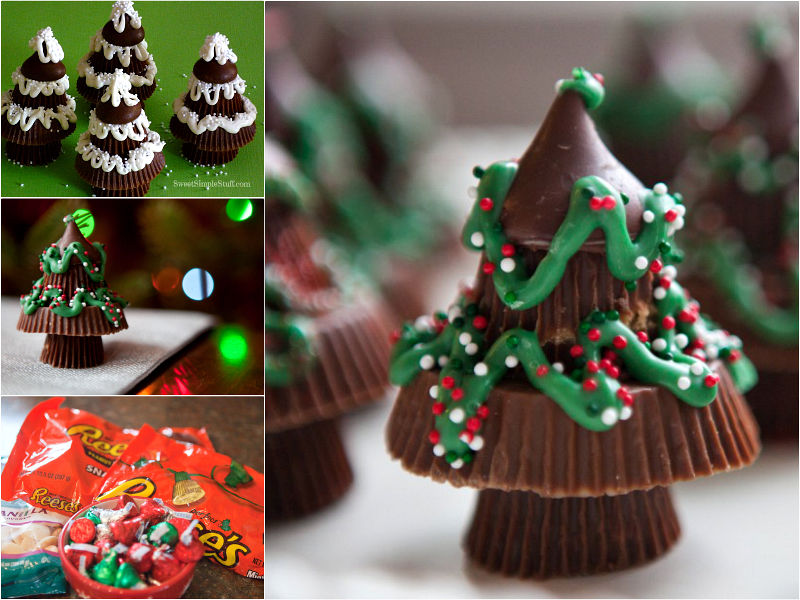 DIY Peanut Butter Christmas Trees Pictures, Photos, And