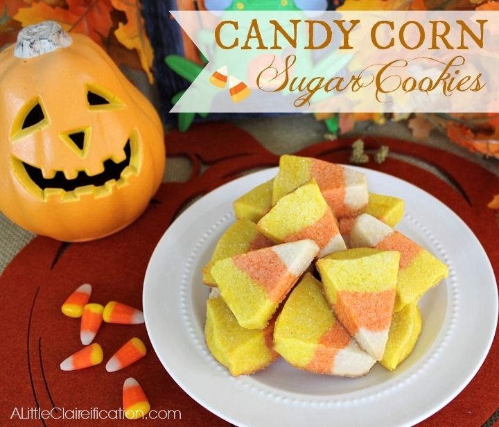Candy Corn Sugar Cookies Pictures, Photos, and Images for Facebook ...