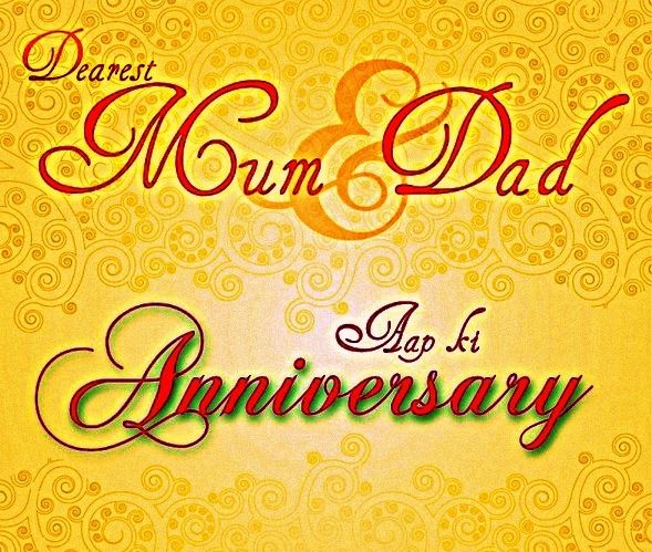 Hy Anniversary Mom And Dad
