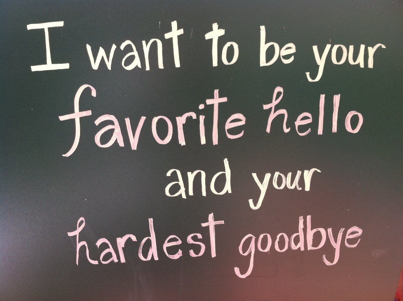 Hello wednesday pictures photos and images for facebook tumblr - Favorite Hello And Hardest Goodbye