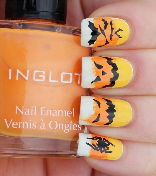 Candy Corn Nail Art Pictures Photos And Images For Facebook
