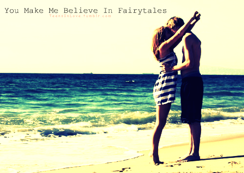 you make me believe in love