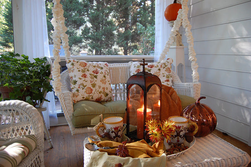 Cozy Fall Front Porch Pictures Photos And Images For