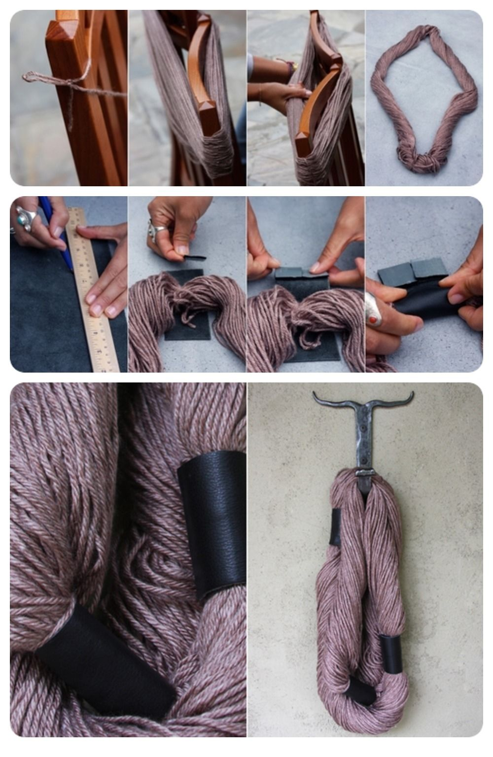 DIY No Knit Scarf Pictures, Photos, and Images for ...