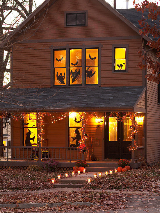 halloween decorated house - Halloween Decorated House