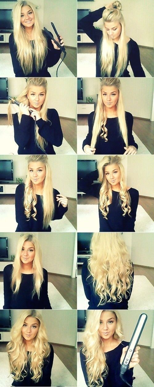 Diy wavy hair tutorial pictures photos and images for facebook diy wavy hair tutorial urmus Gallery