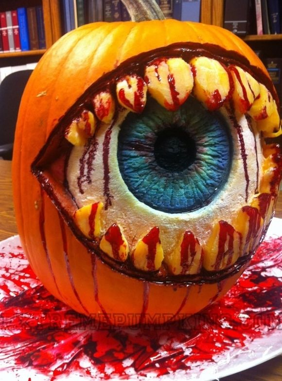 Bloody Eye Pumpkin Pictures Photos And Images For