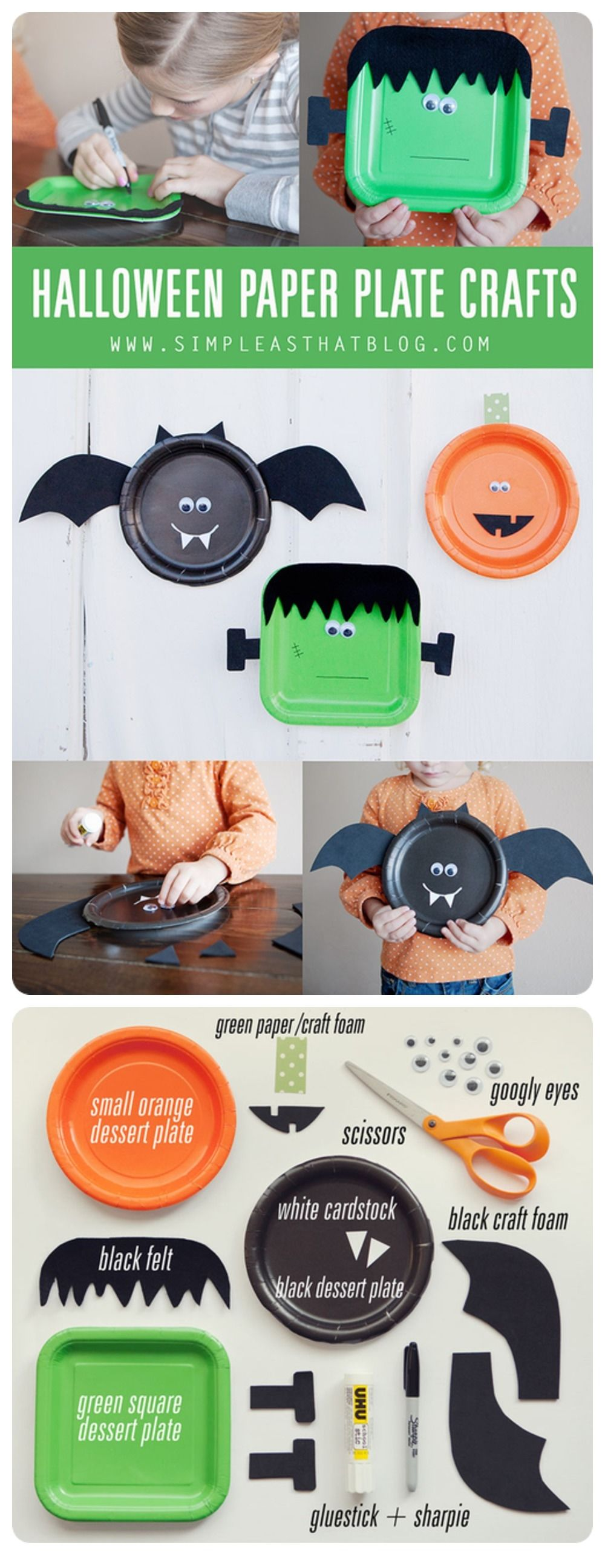 Halloween paper plate crafts pictures photos and images for halloween paper plate crafts pictures photos and images for facebook tumblr pinterest and twitter jeuxipadfo Image collections