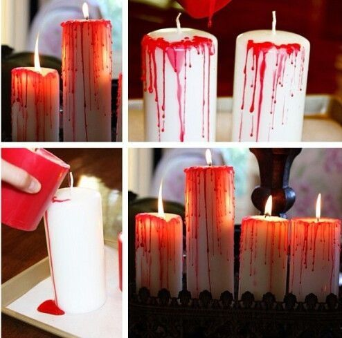 Blood candles pictures photos and images for facebook - Manualidades para adultos ...