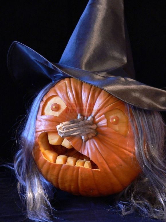 Witch pumpkin pictures photos and images for facebook