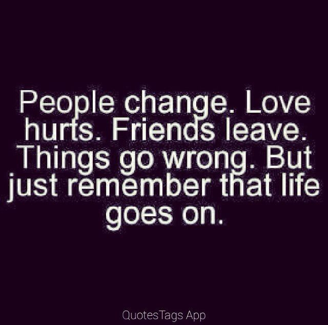Gone Friends Quotes Pics: Life Goes On Pictures, Photos, And Images For Facebook