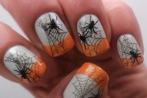 Halloween Spiderweb Nails Pictures, Photos, and Images for ...