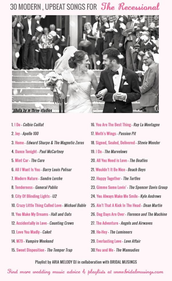 30 upbeat wedding songs pictures photos and images for