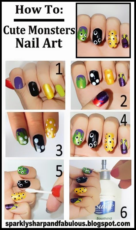 Diy Monster Nail Art Pictures Photos And Images For Facebook
