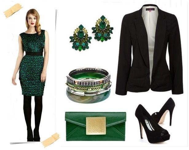 Dress Green Dress & Coordinating Accessories