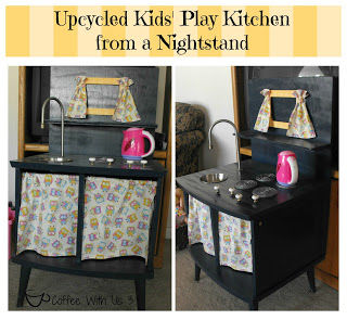 Kids kitchen from a nightstand pictures photos and Things to use as nightstands