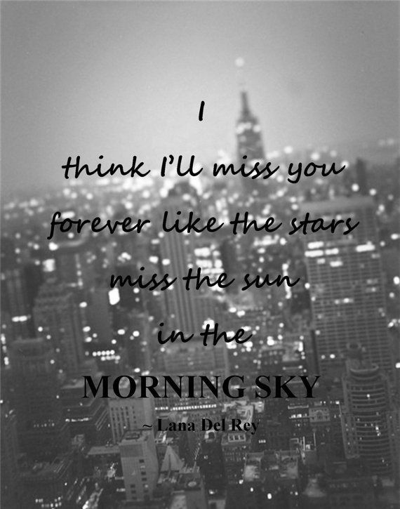 I Think I\'ll Miss You Forever Pictures, Photos, and Images ...
