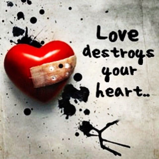 Awesome Love Destroys Your Heart With Best Wallpapers For Mobile Phones