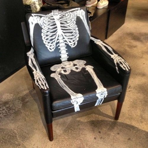 skeleton chair pictures photos and images for facebook tumblr