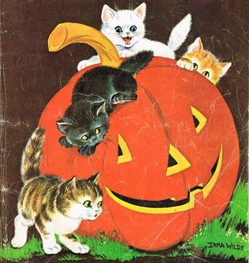 Vintage Halloween Art Pictures, Photos, and Images for Facebook ...