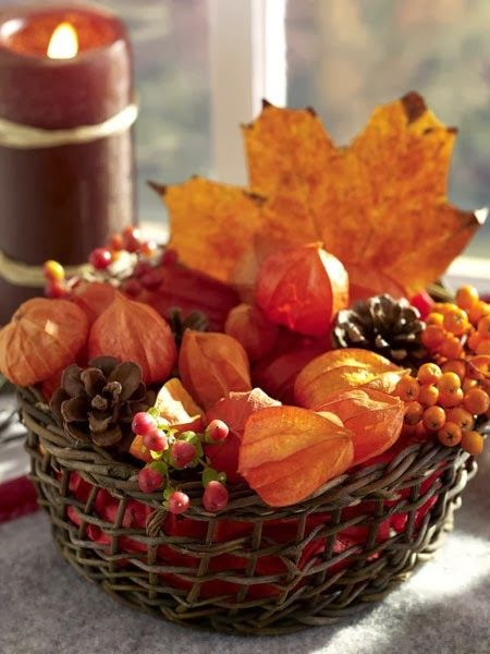 Autumn Basket Pictures Photos And Images For Facebook