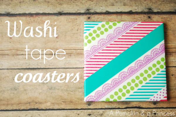 Washi Tape Coasters Pictures Photos And Images For