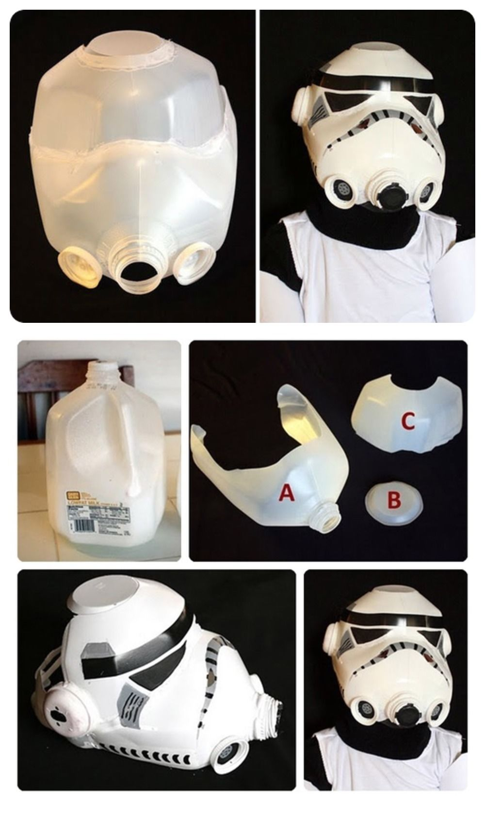 Diy storm trooper helmet pictures photos and images for facebook diy storm trooper helmet solutioingenieria Gallery