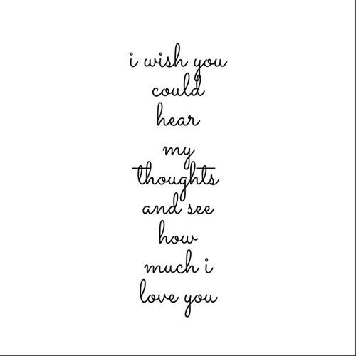 I Love You So Much Quotes For Him Tumblr: I Wish You Knew How Much I Love You Pictures, Photos, And