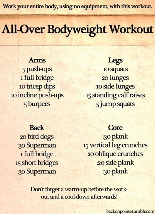 Arm Workout Tumblr