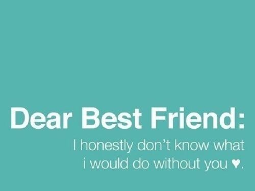 Dear Best Friend Pictures Photos And Images For Facebook Tumblr Extraordinary Best Friend Quotes Tumblr