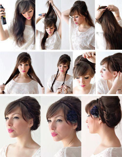 Diy Updo Hair Pictures Photos And Images For Facebook Tumblr