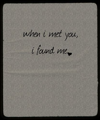 When I Met You Pictures, Photos, and Images for Facebook