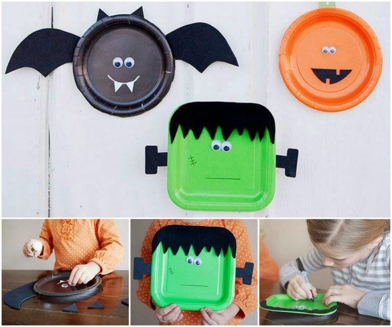 Halloween Paper Plate Craft Pictures Photos And Images For
