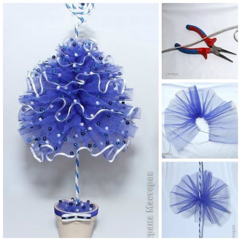 Christmas Tree Ideas Diy : Tulle christmas tree pictures photos and images for