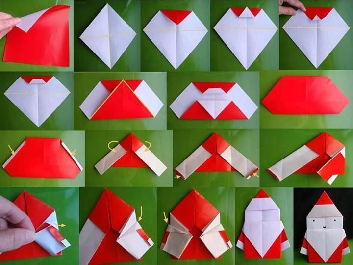 Christmas Decorations Made Out Of Paper Instructions : Christmas origami pictures photos and images for