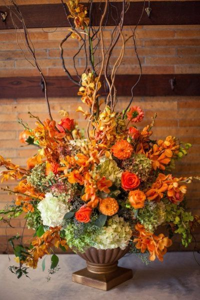 Gorgeous fall floral arrangement pictures photos and for Fall fake flower arrangement ideas