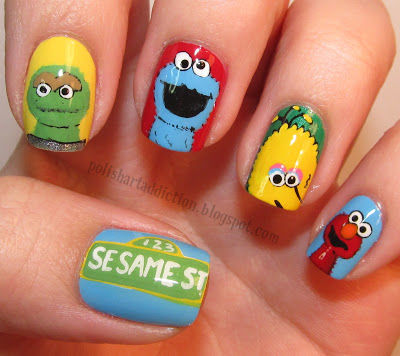 Sesame Street Nail Art Pictures Photos And Images For Facebook