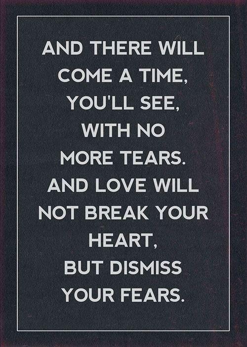 When will love come