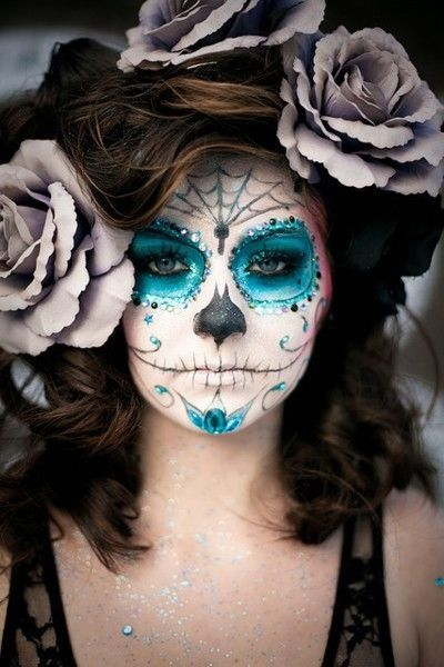 Sugar skull doll face makeup pictures photos and images for facebook tumblr pinterest and - Sugar skull images pinterest ...