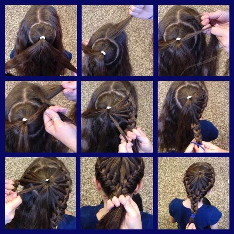 DIY Crown Braids Hairstyle Pictures Photos And Images For - Braid diy pinterest