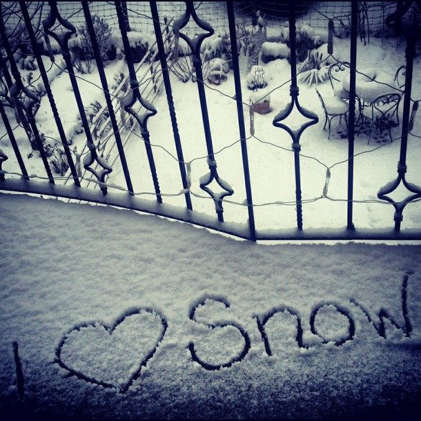 I Love Snow Pictures Photos And Images For Facebook Tumblr