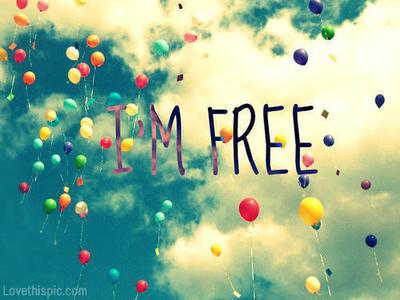 I Am Free Now im free