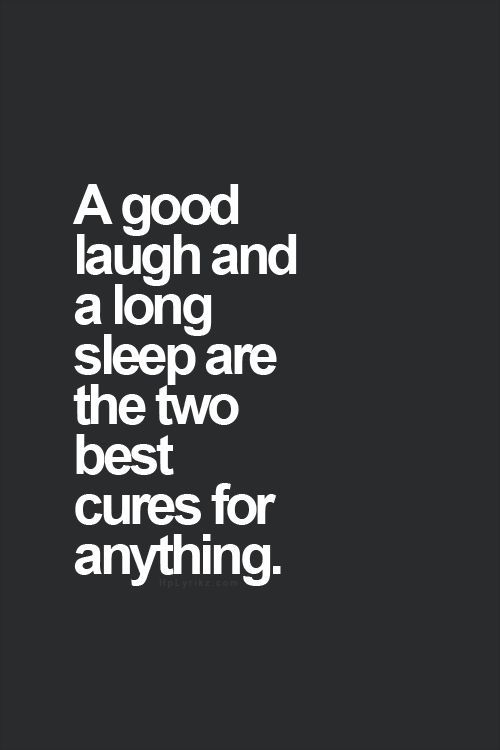 Funny Sleep Quotes Laughter. QuotesGram