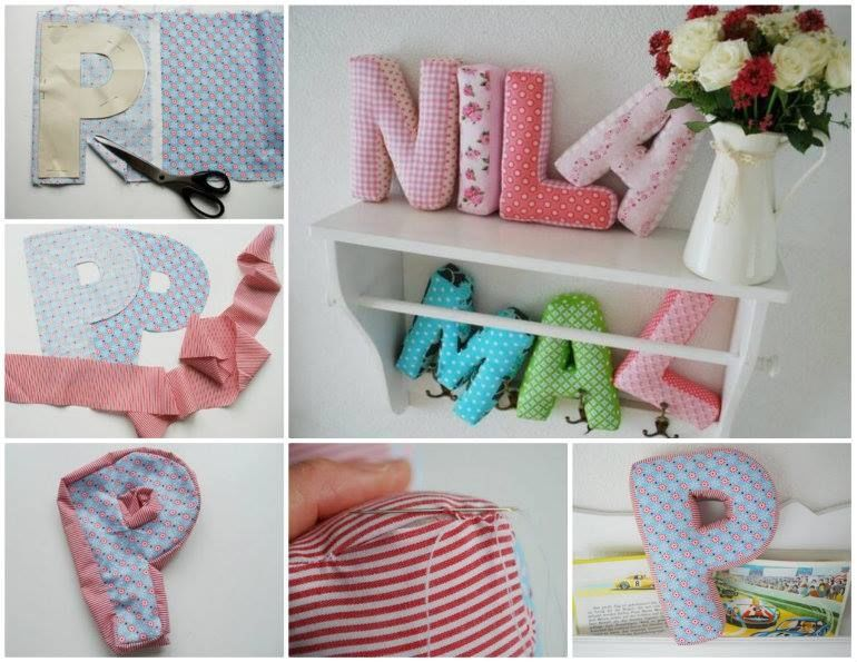 Diy Pillows Made Into Letters Pictures Photos And Images