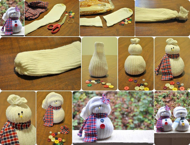 How to make sock snowmen pictures photos and images for facebook